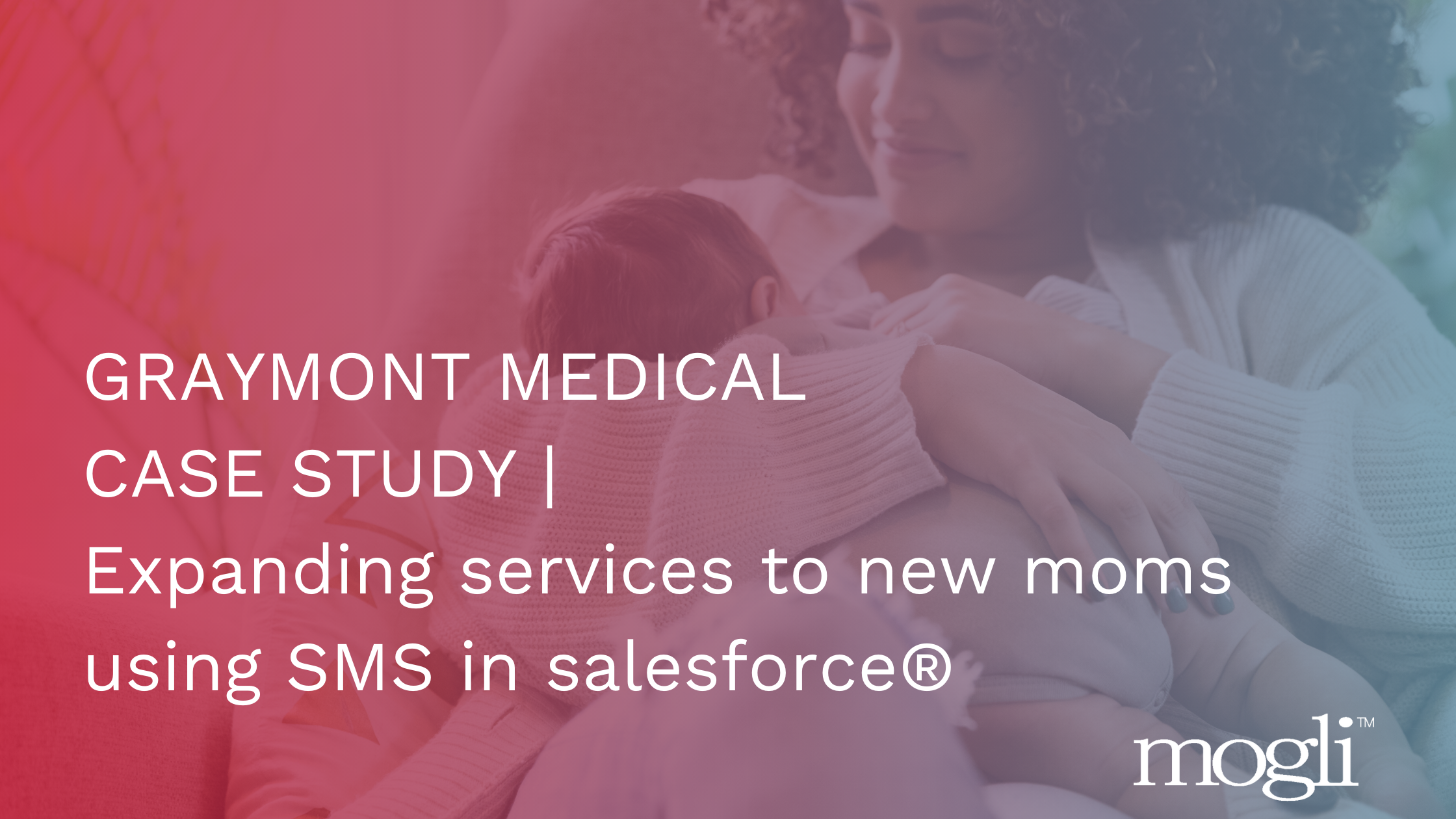 Graymont Medical SMS in Saleforce case study blog banner