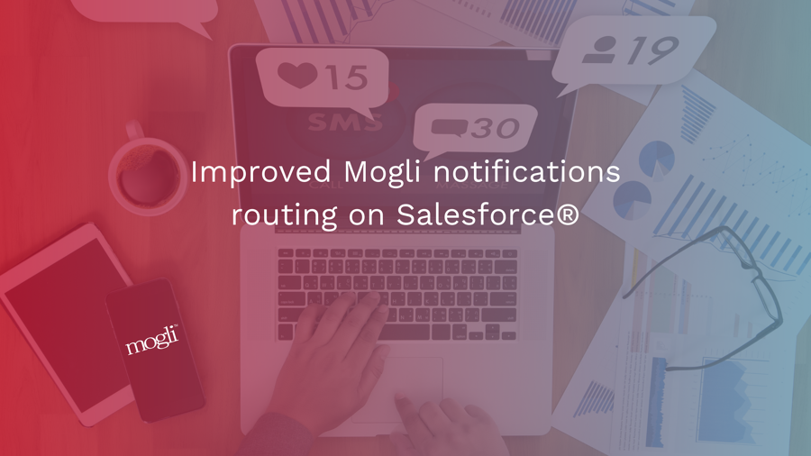 Improved Mogli notifications routing on Salesforce®