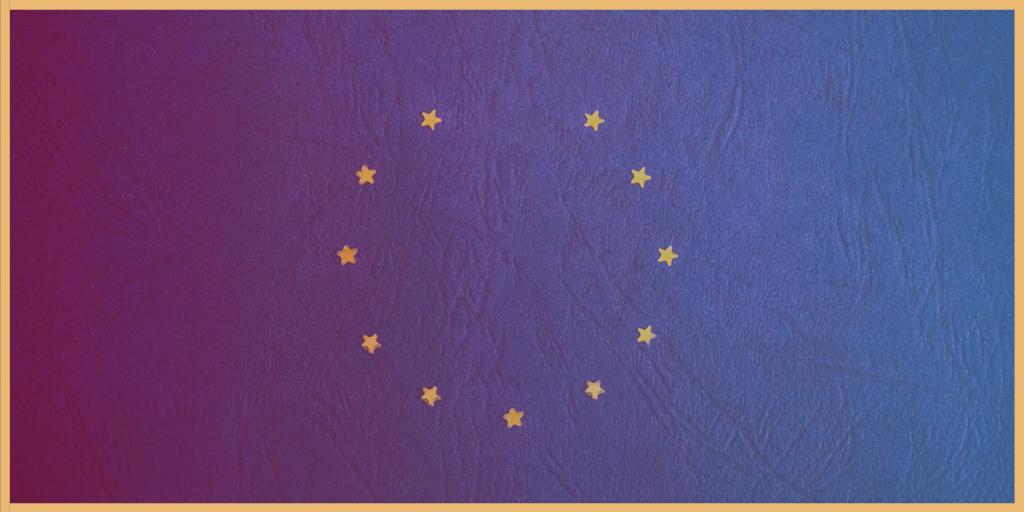 twitter EU flag