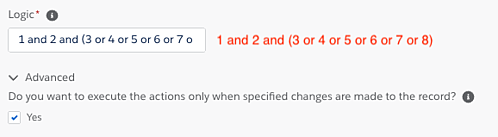 Customize the logic field for opt-out automation