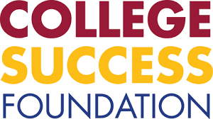 Mogli SMS client, college success foundation logo
