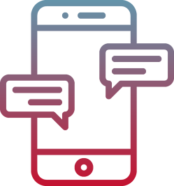 one-on-one conversations via text message with financial services clients from mogli on salesforce