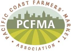 pacific coast farmers' market association logo mogli client